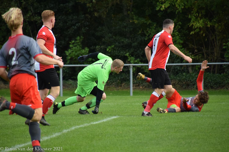 Foto's en wedstrijdverslag Abbenbroek 1 - WFB 1